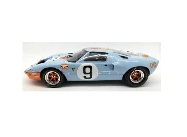 1968 Le Manルマン Ford GT40 Gulf #9 Rodriguez/Bianchi Winner 24H Le Manルマン, blue/orange/white /CMR 1/12 ミニカー