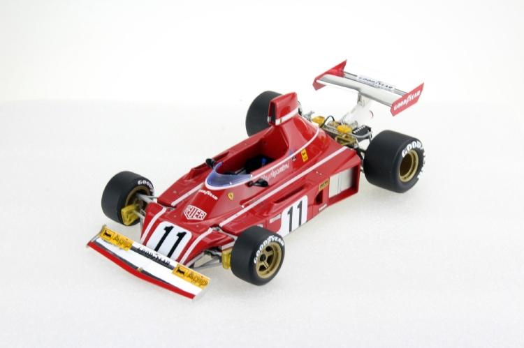 【予約】11月以降発売予定FERRARIフェラーリ F1 312 B3 N 11 SEASON 1974 CLAY REGAZZONI /GP Replicas 1/18 ミニカー