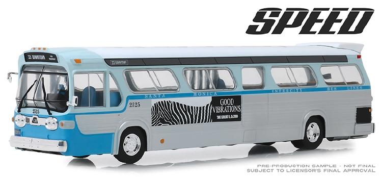 想像を超えての 1960s #2525 General Motors TDH 1960s ミニカー #2525 Los Angeles, California Downtown Bus Speed (1994)映画スピード バス/Greenlight 1/43 ミニカー, IRIE LINKS:4ea416b6 --- kventurepartners.sakura.ne.jp