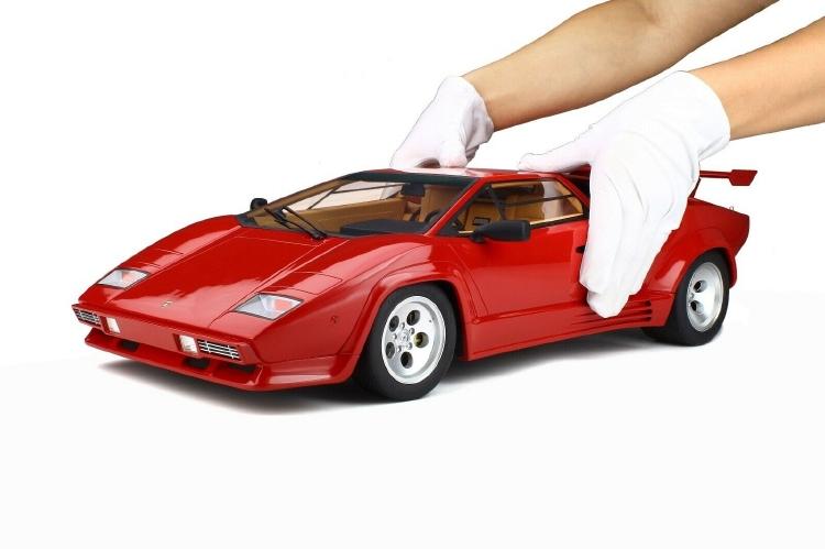 Lamborghini Countachランボルギーニ カウンタック LP500 QV rosso siviglia /GTスピリット 1/8 ミニカー