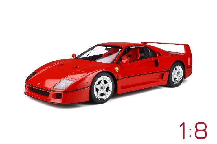 FERRARIフェラーリ F40 1987 /GTスピリット1/8 ミニカー