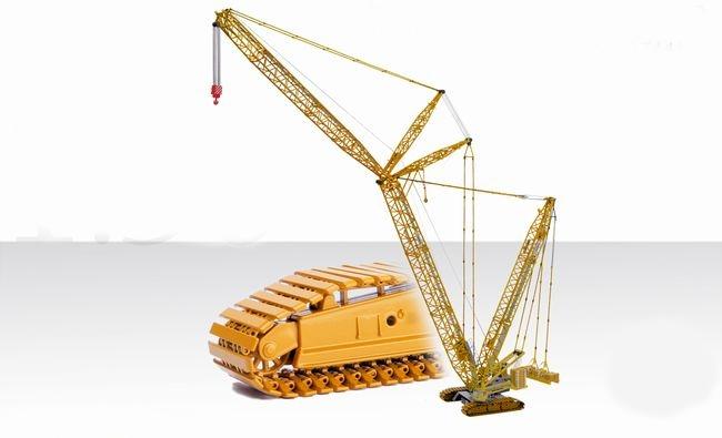 【予約】1月以降発売予定BRACHT TEREX SUPERLIFT 3800 クローラークレーン /CONRAD 建設機械模型 工事車両 1/50 ミニチュア
