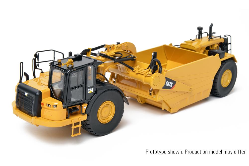 【予約】2017年発売予定Cat 637K Coal Bowl Tractor-Scraper トラクター /CCM 建設機械模型 工事車両 1/48 ミニチュア