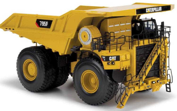 Cat 795F AC Mining Truck ダンプトラック/NORSCOTノースコット 建設機械模型 工事車両 1/50 ミニチュア