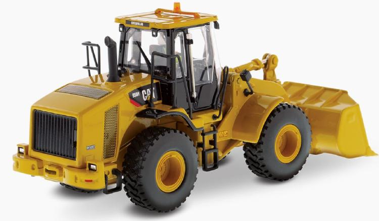 Cat 950H ホイールローダー  /ダイキャストマスターズ 建設機械模型 工事車両 1/50 ミニチュア