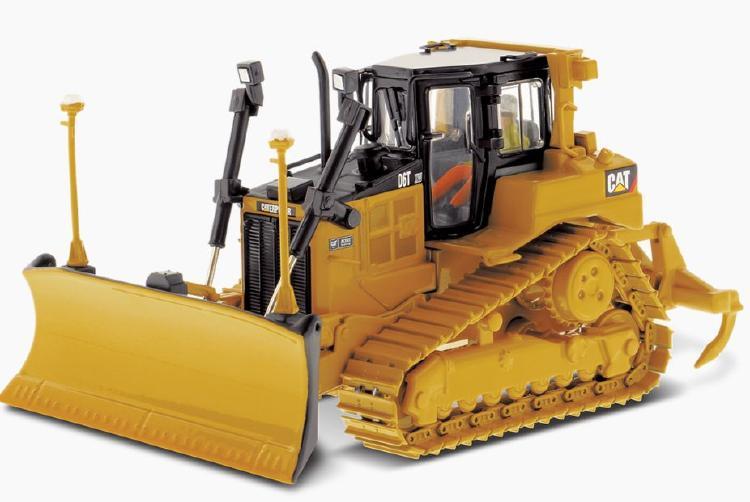 Cat D6T XW VPAT Track Type Tractor ブルドーザー  /ダイキャストマスターズ 建設機械模型 工事車両 1/50 ミニチュア