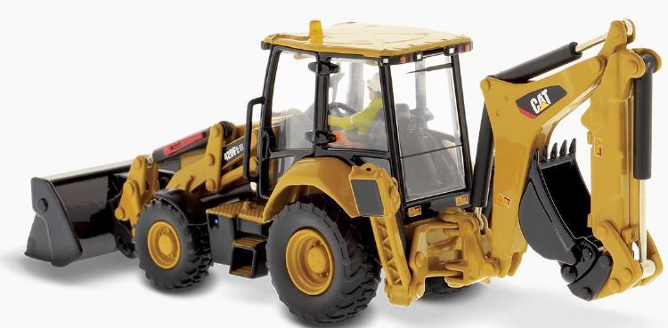 【予約】6-8月以降発売予定Cat 420F2 バックホー Loader (Pivot) ショベル  /ダイキャストマスターズ 建設機械模型 工事車両 1/50 ミニチュア
