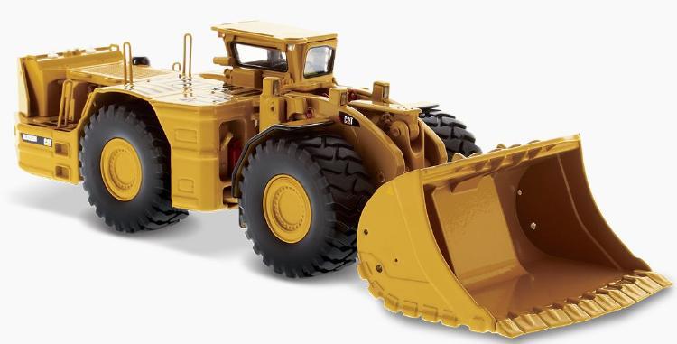 Cat R3000H Underground ホイールローダー  /ダイキャストマスターズ 建設機械模型 工事車両 1/50 ミニチュア