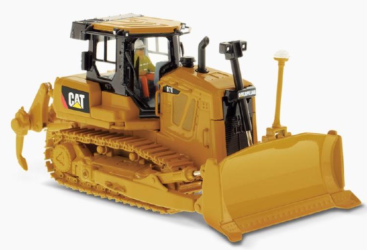 Cat D7E Track Type Tractor ブルドーザー  /ダイキャストマスターズ 建設機械模型 工事車両 1/50 ミニチュア