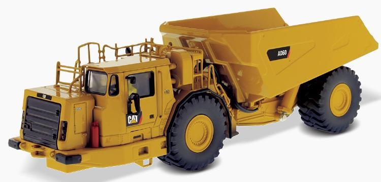 【予約】6-8月以降発売予定Cat AD60 Articulated Underground Truck ダンプ  /ダイキャストマスターズ 建設機械模型 工事車両 1/50 ミニチュア
