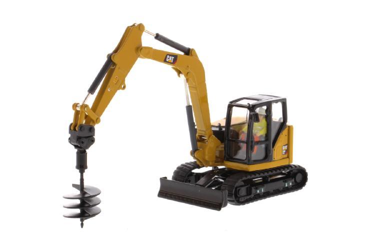 【予約】5-8月以降発売予定Cat 308 CR Mini Hydraulic Excavatorショベル 建設機械模型 工事車両ダイキャストマスターズ 1/50 ミニチュア