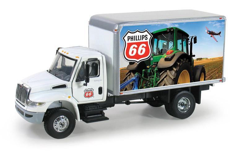 【予約】2014年1月以降発売予定PHILLIPS 66 International DuraStar Delivery Truck トラック /ファーストギア1/50 建設機械模型
