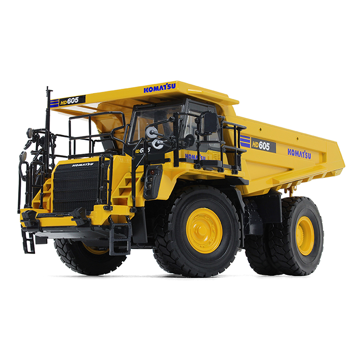Komatsuコマツ HD605-8 Dump Truckダンプ /建設機械模型 工事車両 ファーストギア 1/50 ミニチュア