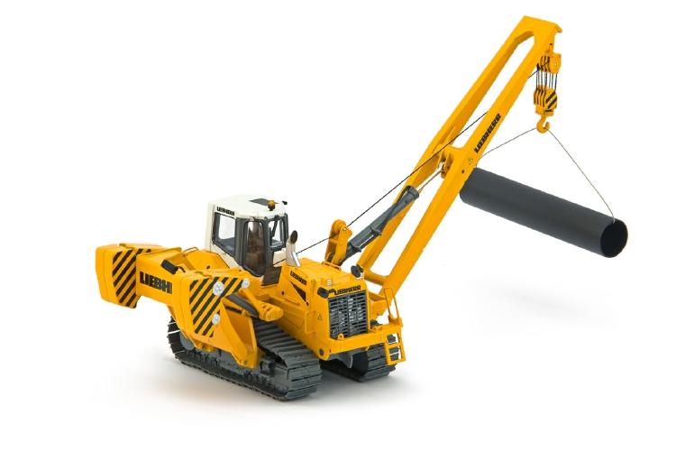 Liebherrリープヘル Pipelayerパイプレイヤー RL 66 クレーン /建設機械模型 工事車両IMC 1/50 ミニチュア