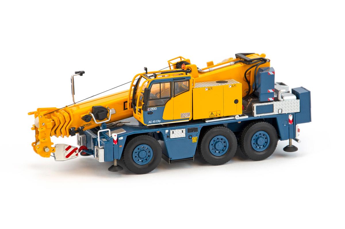 【予約】7月以降発売予定Demag AC45 City ラージホイールエディション モバイルクレーン 建設機械模型 工事車両IMC 1/50 ミニチュア