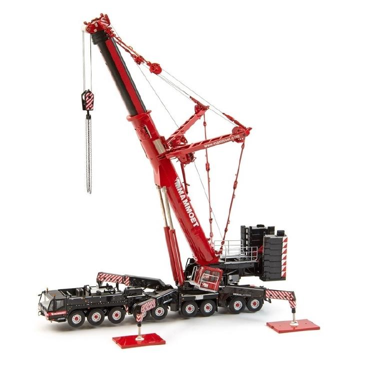 マムート特注 MAMMOET DEMAG AC 700 モバイルクレーン /建設機械模型 工事車両 IMC 1/50 ミニカー
