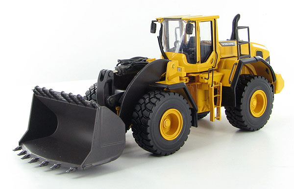 Volvoボルボ L250G フロントローダー Spade-Nose Rock Bucket /MOTORARTモーターアート 1/50 ダイキャスト 建設機械模型