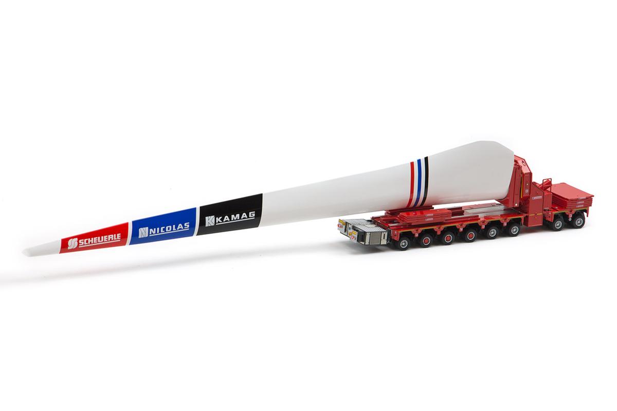 【予約】10-12月以降発売予定TII Scheuerle Intercombi 2 + 6 + PB Windblade adapter Windmill wingトレーラー /Tonkin IMC 建設機械模型 工事車両 1/50 ミニチュア