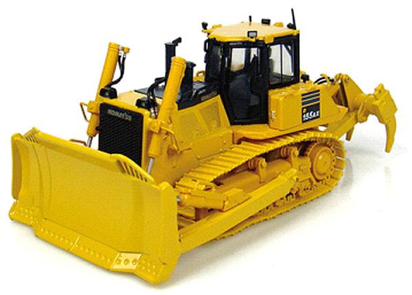 Komatsuコマツ D155 AX Dozer with Ripperダンプトラック UniversalHobbiesユニバーサルホビー 建設機械模型 工事車両 1/50 ミニチュア