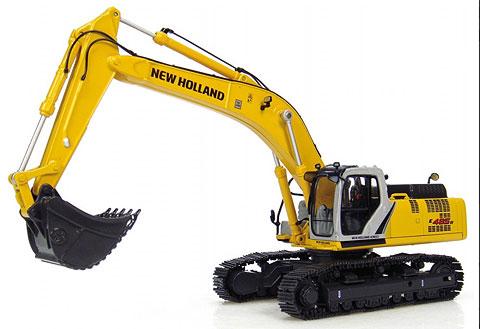 New Holland E 485B Excavator油圧ショベル UniversalHobbiesユニバーサルホビー 建設機械模型 工事車両 1/50 ミニチュア