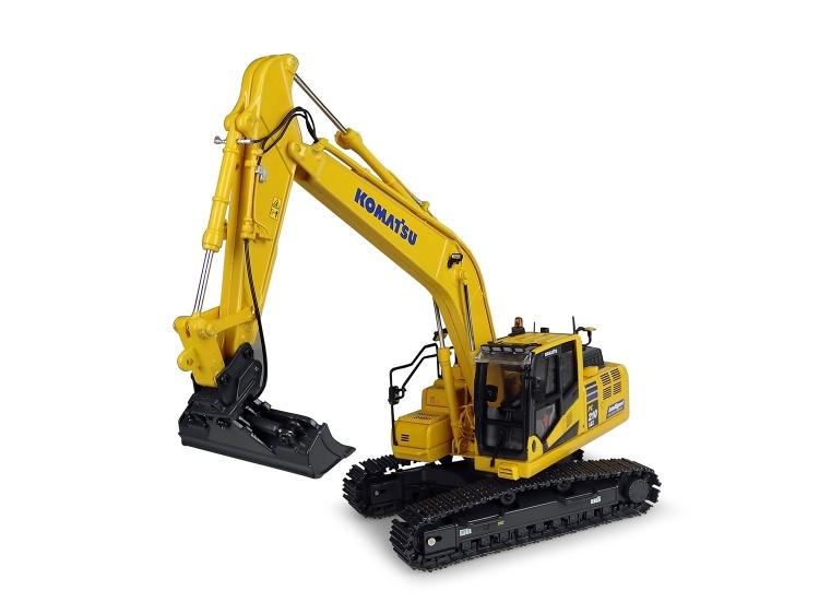 Komatsuコマツ PC210LCi-11油圧ショベル /建設機械模型 工事車両 ユニバーサルホビー 1/50 ミニチュア