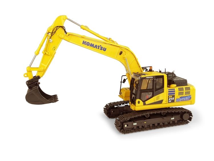 Komatsuコマツ HB215 LC3 Hybrid油圧ショベル /建設機械模型 工事車両 ユニバーサルホビー 1/50 ミニチュア