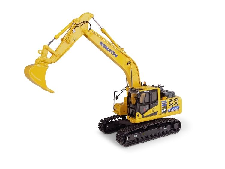 Komatsuコマツ HB205 LC-3 Hybrid油圧ショベル /建設機械模型 工事車両 ユニバーサルホビー 1/50 ミニチュア
