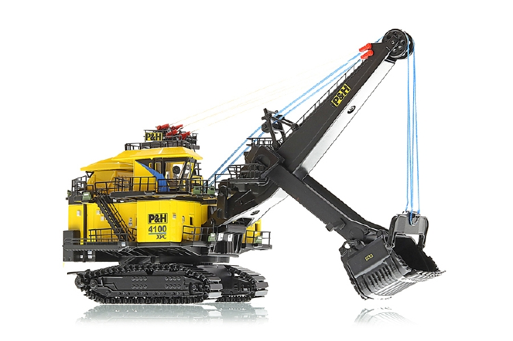 P&H 4100XPC ショベル /建設機械模型 工事車両 Weiss Brothers 1/160 ミニチュア