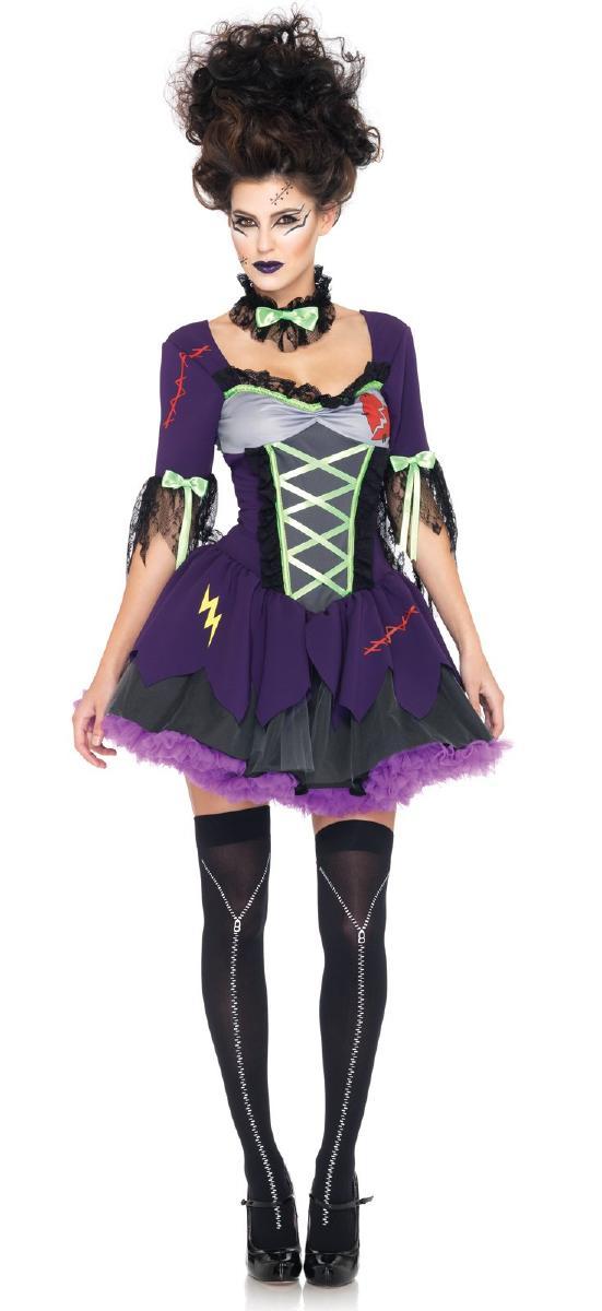 フランキーズ☆ブライド コスチューム コスプレ衣装 (二次会、結婚式、仮装、パーティー、宴会、舞台、演劇、ハロウィン) 女性 大人用