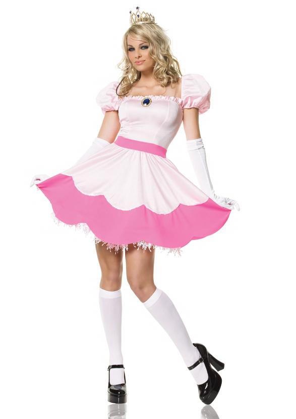 メルヘンなピンクプリンセスコスチューム コスプレ衣装 (二次会、結婚式、仮装、パーティー、宴会、舞台、演劇、ハロウィン) 女性 大人用