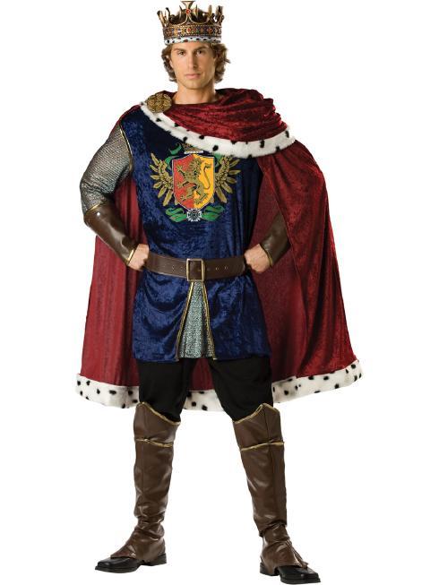 高貴な王様用コスチューム コスプレ衣装 (二次会、結婚式、仮装、パーティー、宴会、舞台、演劇、大きいサイズ)  大人用