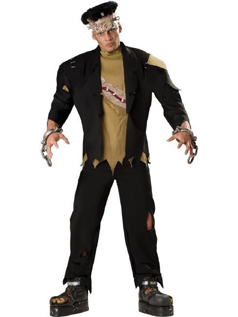 フランケンシュタイン コスチューム コスプレ衣装 (二次会、結婚式、仮装、パーティー、宴会、舞台、演劇、ハロウィン、大きいサイズ)  大人用