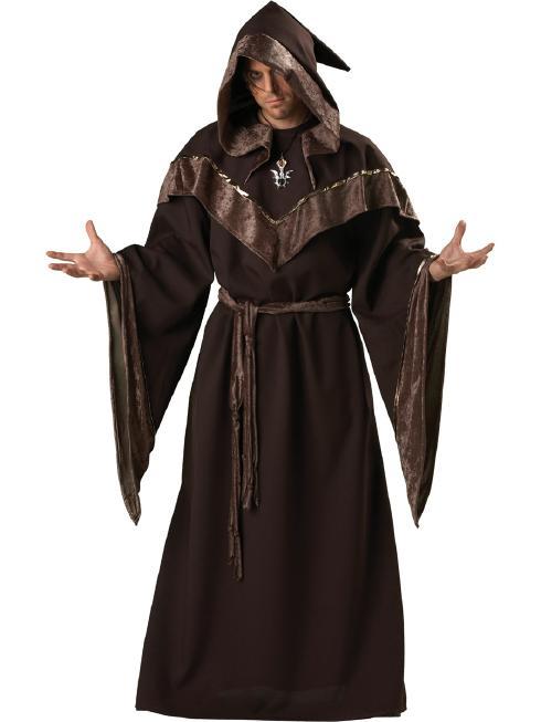 ミステリアスな魔術師 メンズ用コスチューム(ブラウン) 4ピースセット 4ピースセット コスプレ衣装 (二次会、結婚式 大人用、仮装、パーティー 男性、宴会、ハロウィン) 男性 大人用, ペット用品 ペットの道具屋さん:e8f67f67 --- rods.org.uk