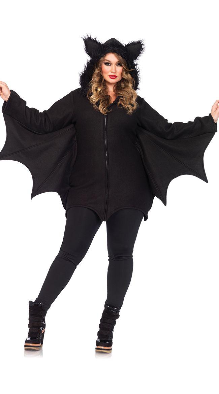フリースこうもりコスチューム 【大きいサイズ】仮装コスチューム コスプレ /LEG AVENUEレッグアベニュー コスプレ・仮装・ハロウィン・女性大人用