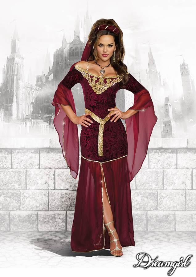 中世の魔女コスチューム3点セット仮装コスチューム コスプレ /ドリームガール・仮装・ハロウィン・女性大人用
