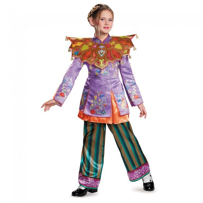 『アリス・イン・ワンダーランド』アリスのアジアン風コスチューム3点セット(子供用) ハロウィンコスチューム コスプレ (仮装、パーティー、舞台、演劇、ハロウィン)