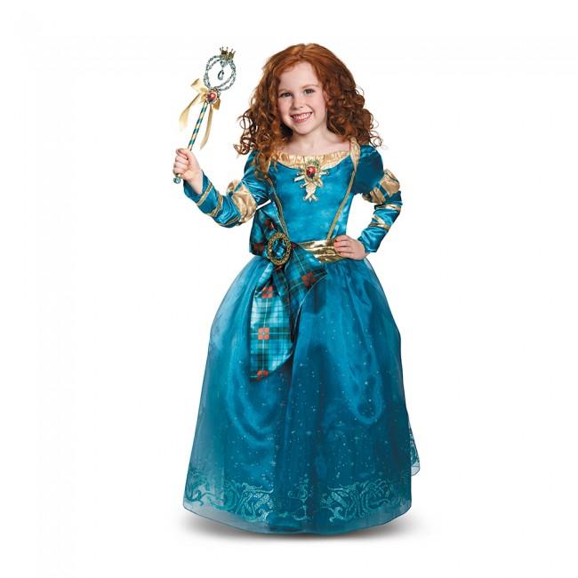 『メリダとおそろしの森』メリダのコスチューム(子供用) ハロウィンコスチューム コスプレ (仮装、パーティー、舞台、演劇、ハロウィン)キッズ 女の子 子供用