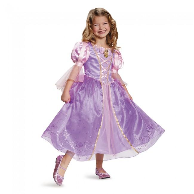 『塔の上のラプンツェル』ラプンツェルのコスチューム(子供用) ハロウィンコスチューム コスプレ (仮装、パーティー、舞台、演劇、ハロウィン)キッズ 女の子 子供用