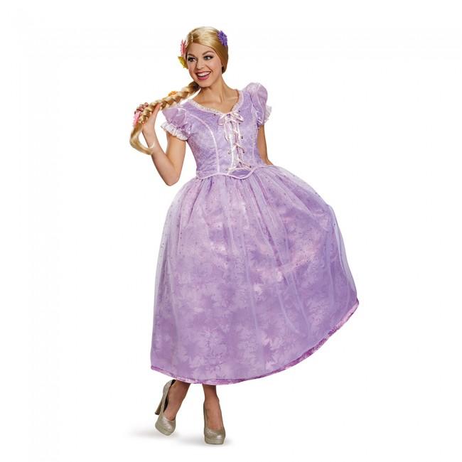 『塔の上のラプンツェル』ラプンツェルのコスチューム(大人用) ハロウィンコスチューム コスプレ (二次会、結婚式、仮装、パーティー、宴会、舞台、演劇、ハロウィン)  女性 大人用