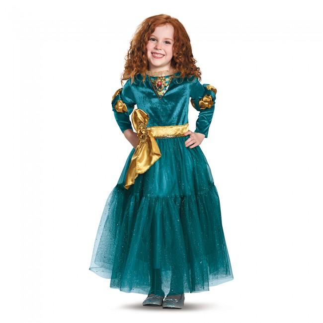 『メリダとおそろしの森』メリダのデラックスコスチューム(子供用) ハロウィンコスチューム コスプレ (仮装、パーティー、舞台、演劇、ハロウィン)キッズ 女の子 子供用