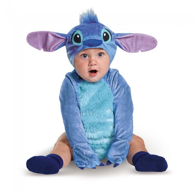 スティッチ インファント 2点セット /キッズ用 コスプレ衣装 (結婚式、仮装、ハロウィン) 子供用 男の子 赤ちゃん 6ヶ月 12ヶ月 18ヶ月