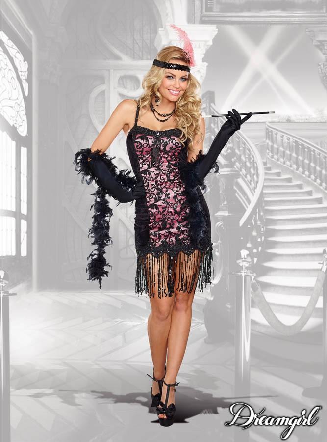 コットンクラブ キューティ  大人女性  2点セット コスチューム コスプレ衣装 (二次会、結婚式、仮装、パーティー、宴会、ハロウィン)
