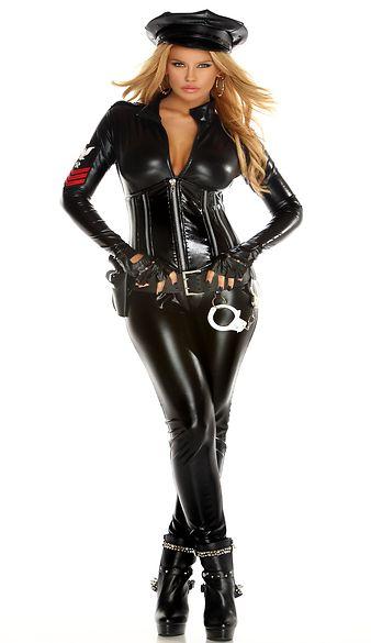 セクシー機密軍隊のコスチューム3点セット フォープレイ イベント仮装コスチューム コスプレ・ハロウィン・女性大人用