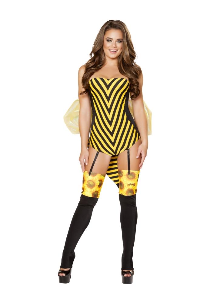女王蜂のコスチューム セクシー コスプレ衣装 (二次会、結婚式、仮装、パーティー、宴会、ハロウィン) 女性 大人用