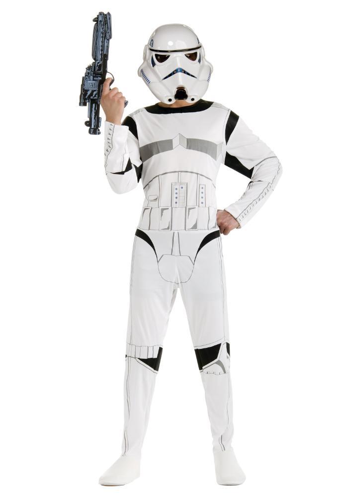 『スター・ウォーズ』ストーム・トルーパーのコスチューム大人用2点セット コスプレ衣装 (二次会、結婚式、仮装、パーティー、宴会、ハロウィン)大人男性用