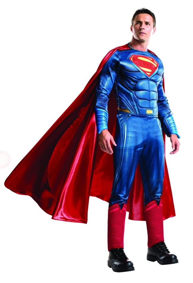 スーパーマンのコスチューム4点セット大人用 コスチューム コスプレ衣装 (二次会、結婚式、仮装、パーティー、宴会、舞台、演劇、ハロウィン、大きいサイズ)大人用 男性