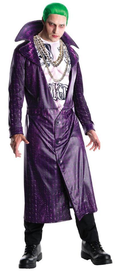 『スーサイドスクワッド』ジョーカーのコスチューム・デラックス大人用 コスプレ衣装 (二次会、結婚式、仮装、パーティー、宴会、ハロウィン)大人男性用