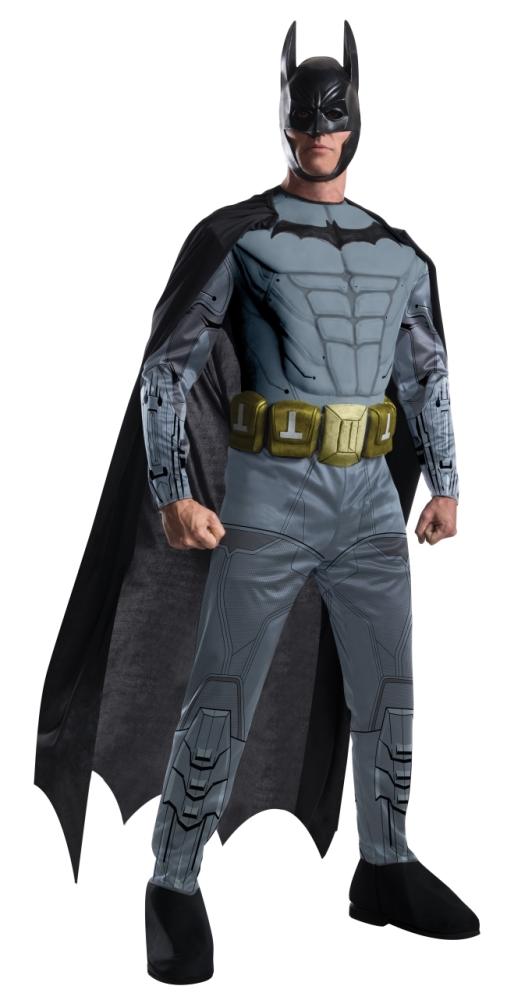 バットマンの胸筋コスチューム4点セット大人用 コスチューム コスプレ衣装 (二次会、結婚式、仮装、パーティー、宴会、舞台、演劇、ハロウィン、大きいサイズ)大人用 男性