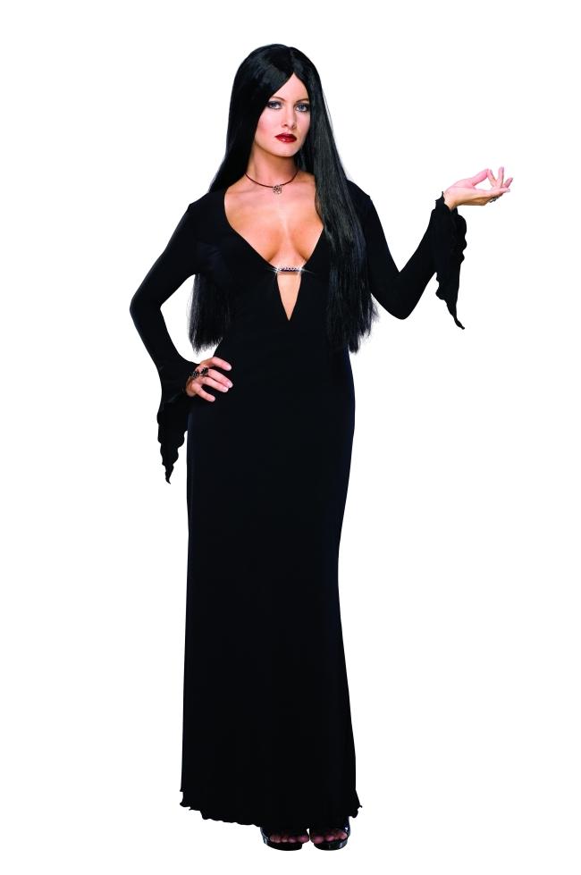 モーティシアのコスチューム2点セット大人用 コスチューム コスプレ衣装 (二次会、結婚式、仮装、パーティー、宴会、舞台、演劇、ハロウィン)大人用 女性