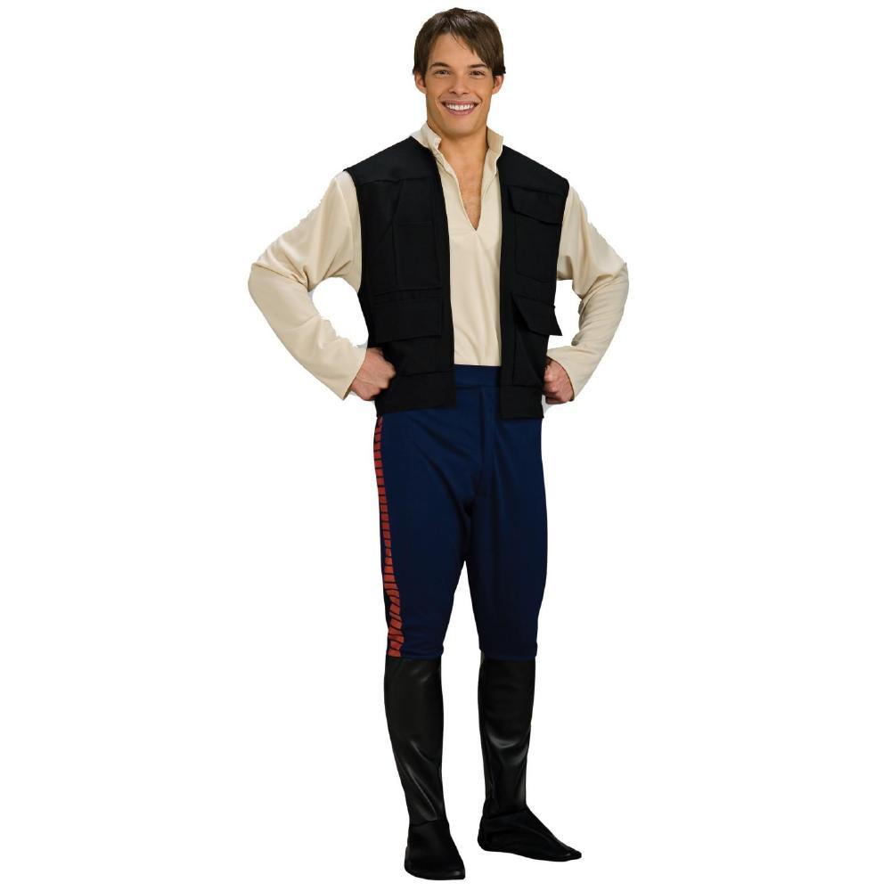 『スター・ウォーズ』ハン・ソロのコスチューム大人用3点セット コスプレ衣装 (二次会、結婚式、仮装、パーティー、宴会、ハロウィン)大人男性用